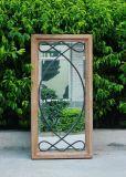 Specchio elegante della parete del metallo di stile del Giappone con il bello disegno