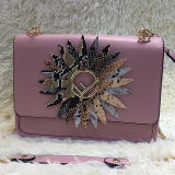 Grandi sacchetti di Tote di Wowen del fiore dell'ultima di disegno borsa popolare calda delle signore fatti in Cina per la ragazza operata Sh164