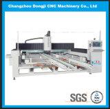 Horizontaler CNC-Glasrand und Poliermaschine für geformte Glastisch-Oberseite