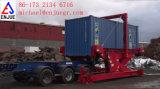 Scarico del contenitore di caricamento del contenitore del caricatore del contenitore dello scaricatore del contenitore dei giralingotti del contenitore