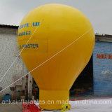 Globo de tierra material fuerte del encerado del PVC para la publicidad superior de la azotea