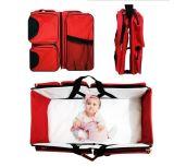 3 in 1 Baby-beweglicher Bett-Windel-Beutel-ändernder Station