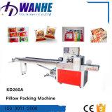 Kd-260A automatische Plätzchen-Süßigkeit-Schokoladen-Kissen-Beutel-Verpackungsmaschine