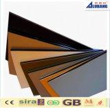 Capa compuesta de aluminio del PE PVDF del panel del material de construcción de la pared de cortina