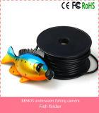 """o luxo subaquático da câmara de vídeo do inventor de 7 da """" peixes cor TFT ajustou-se com cabo de 50m/caso - preto"""