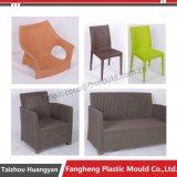プラスチック注入の屋外の庭の藤の家具の椅子型