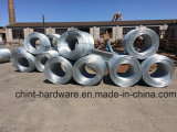Électro approvisionnement galvanisé plongé chaud galvanisé d'usine de fil de fer de fil