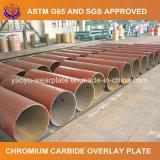 浚渫のための耐久力のある鋼管の耐摩耗加工