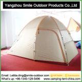 Tente campante imperméable à l'eau de déplacement extérieure d'hexagone de vente chaude