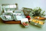 Houdend het Voedsel Meer Heerlijke Container van de Aluminiumfolie