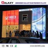 P3.75/P5/P7.5/P10/P16/P20 de interior/al aire libre transparente/vidrio/pantalla de visualización video de la ventana/de la cortina LED/muestra/pared para hacer publicidad