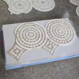 Mattonelle di mosaico di marmo Waterjet di lusso di stile cinese del reticolo