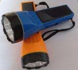 1W-3W太陽庭の懐中電燈のArrantyの高い発電LEDの太陽懐中電燈ライト