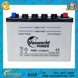 Батарея автомобиля JIS стандартная N80 12V80ah