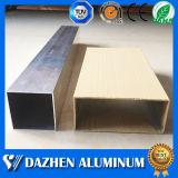 Aluminium-Gefäß-Aluminiumlegierung-Profil der beste Qualitätsrechteckiges 50X50mm