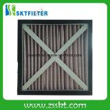 Filtro de aire Foldaway de la cartulina de la parada de Panit del plisado