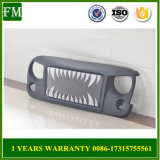 Land Shark Face pour Jeep Wrangler Off-Road Grid Grill
