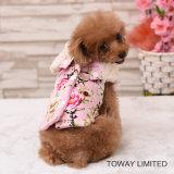 El diseño modifica la capa del perro para requisitos particulares de Wollen del terciopelo de la flor de la ropa del animal doméstico