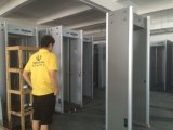 100 Nivel de seguridad 4 Modo infrarrojo Puerta de la arcada Puerta del detector de metales Puerta con batería de respaldo