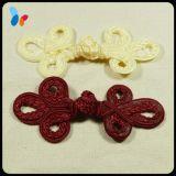 Bouton chinois coloré de noeud de bouton de grenouille pour la robe de femmes