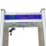 8/10zones 금속 탐지기 Jkdm-800A를 통해서 큰 LCD 스크린 도보