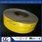 Alto material reflexivo amarillo sólido de la visibilidad D0t-C2 para el vehículo