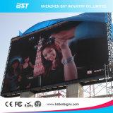 Pantalla LED de la venta caliente P8mm SMD a todo color al aire libre para la publicidad comercial