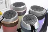 2017 Portable Colorful LED Light Wireless Bluetooth Speaker com cartão TF e rádio FM para telefone inteligente