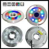 9X1w/9X3w IP68 LED 수중 샘 빛