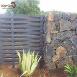 Los paneles de aluminio de la cerca de la armadura barata al aire libre WPC del jardín para la venta