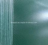 내화성 PVC 지구 패턴 다이아몬드 컨베이어 벨트