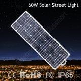 60W réverbère solaire extérieur de la haute énergie DEL avec 5 années de vente chaude de garantie en Afrique