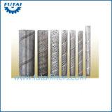 Tubo filtrante sinterizado de giro del acero inoxidable de los recambios