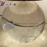 Самомоднейший кристаллический круглый светильник таблицы тени ткани для спальни