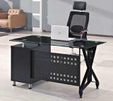 زجاجيّة علبيّة [إإكسيوكتيف] مكتب طاولة [أفّيس فورنيتثر] حديثة ([هإكس-غل043])