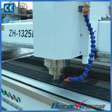 máquina del CNC 4.5kw de 1.3* los 2.5m para la piedra, metal, corte del vidrio