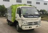 Caminhão da limpeza do vácuo do veículo da vassoura de estrada de Forland 3cbm