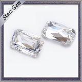 Diamante di Moissanite del taglio dello smeraldo di Cussicut del grado di prezzi all'ingrosso E/F/G/H