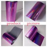 Folha de carimbo quente roxa para o papel/a matéria têxtil/telas/plásticos de couro