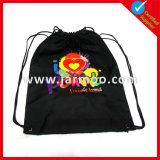 El bolso de lazo barato del poliester de Hotsale con insignia imprimió