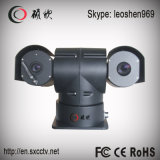 560mの人間の検出35mmレンズの情報処理機能をもった上昇温暖気流PTZ CCTVのカメラ