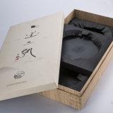 Деревянная OEM роскошная & бумажная коробка упаковки коробки подарка для подарка