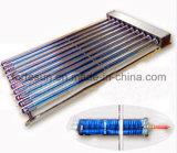 Système de chauffage à eau chaude solaire Heatpipe Split