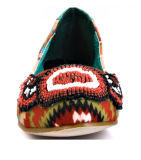 新しいコレクションの秋の平らな女性の原因の靴(YF-31)