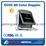Color portable aprobado Doppler del precio Ec05 de la máquina del ultrasonido de China del Ce del FDA