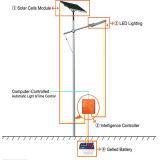 Einzelnes Solar-PV LED Straßenlaternedes Arm-40W 6m für im Freien