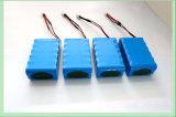 7.4V 4000mAh Lithium-Batterie-Satz für helle Solarbatterie