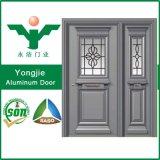 よい価格の外部デザイン細工したアルミニウム複式記入のドア
