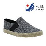 2016 scarpe di tela vulcanizzate nuovo modo dei pattini di tela di canapa degli uomini