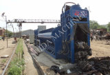 中国のヤードの製鉄所をリサイクルするスクラップのための頑丈な屑鉄の梱包機のせん断